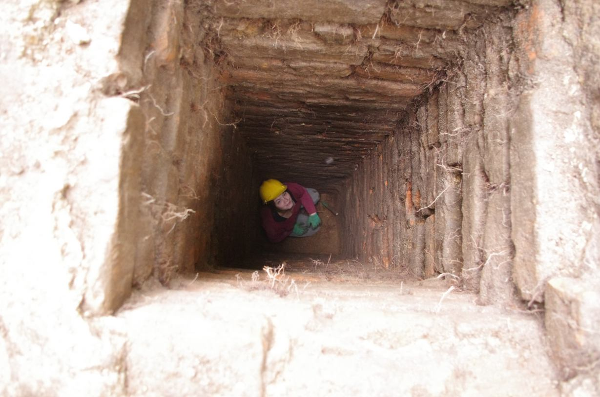 Archeolodzy odkryli tajemniczy tunel pod człuchowskim zamkiem FOTO, WIDEO