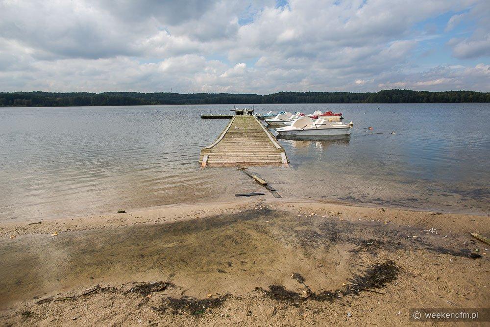 Wysoki stan wody w jeziorze Charzykowskim FOTO