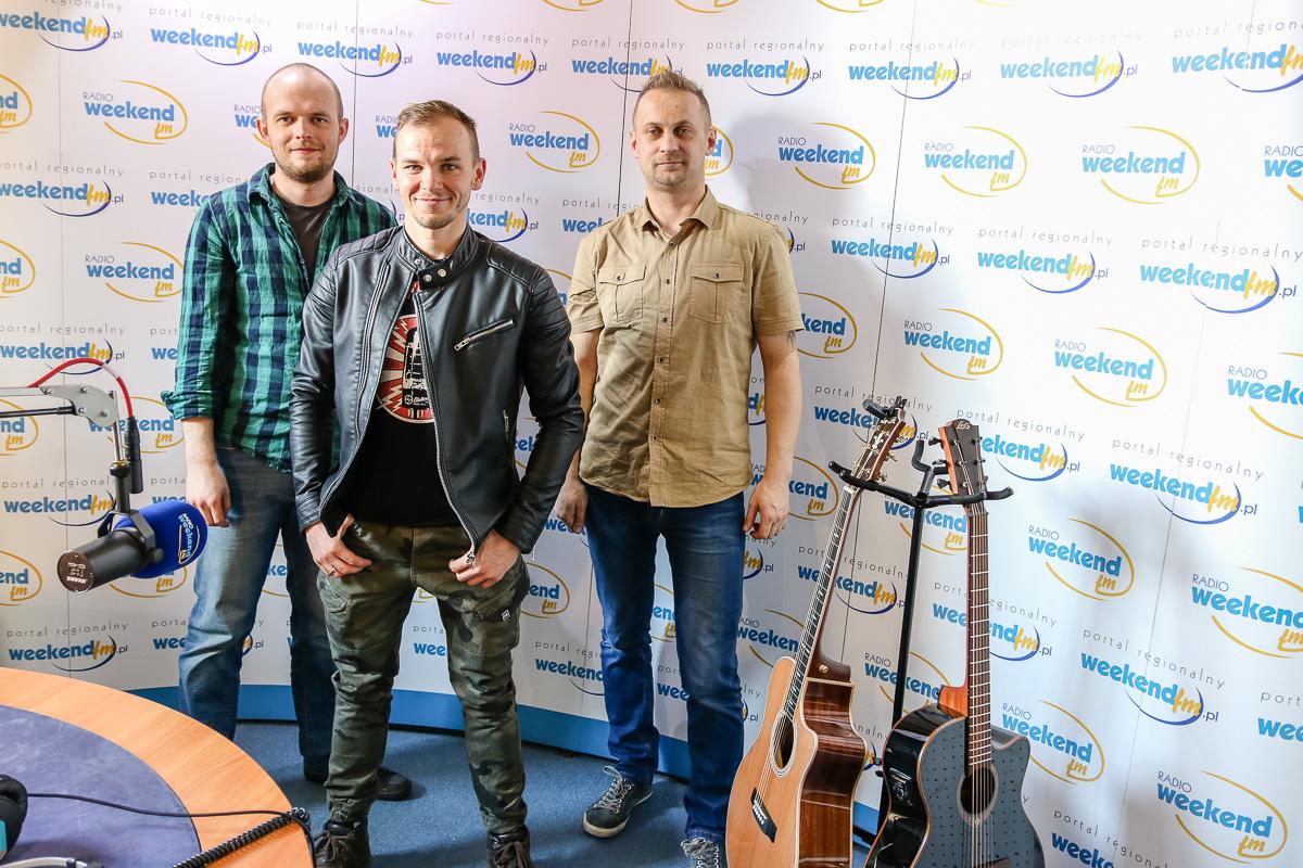 Zespół One Future z Miastka na żywo w Weekend FM
