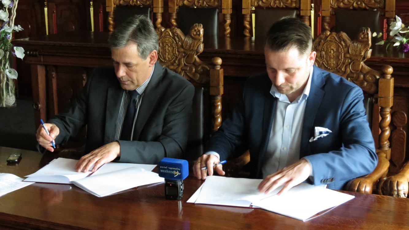 Chojnicki Ekomel kolejnym wykonawcą projektu &bdquoPoprawa gospodarki wodami opadowymi i roztopowymi