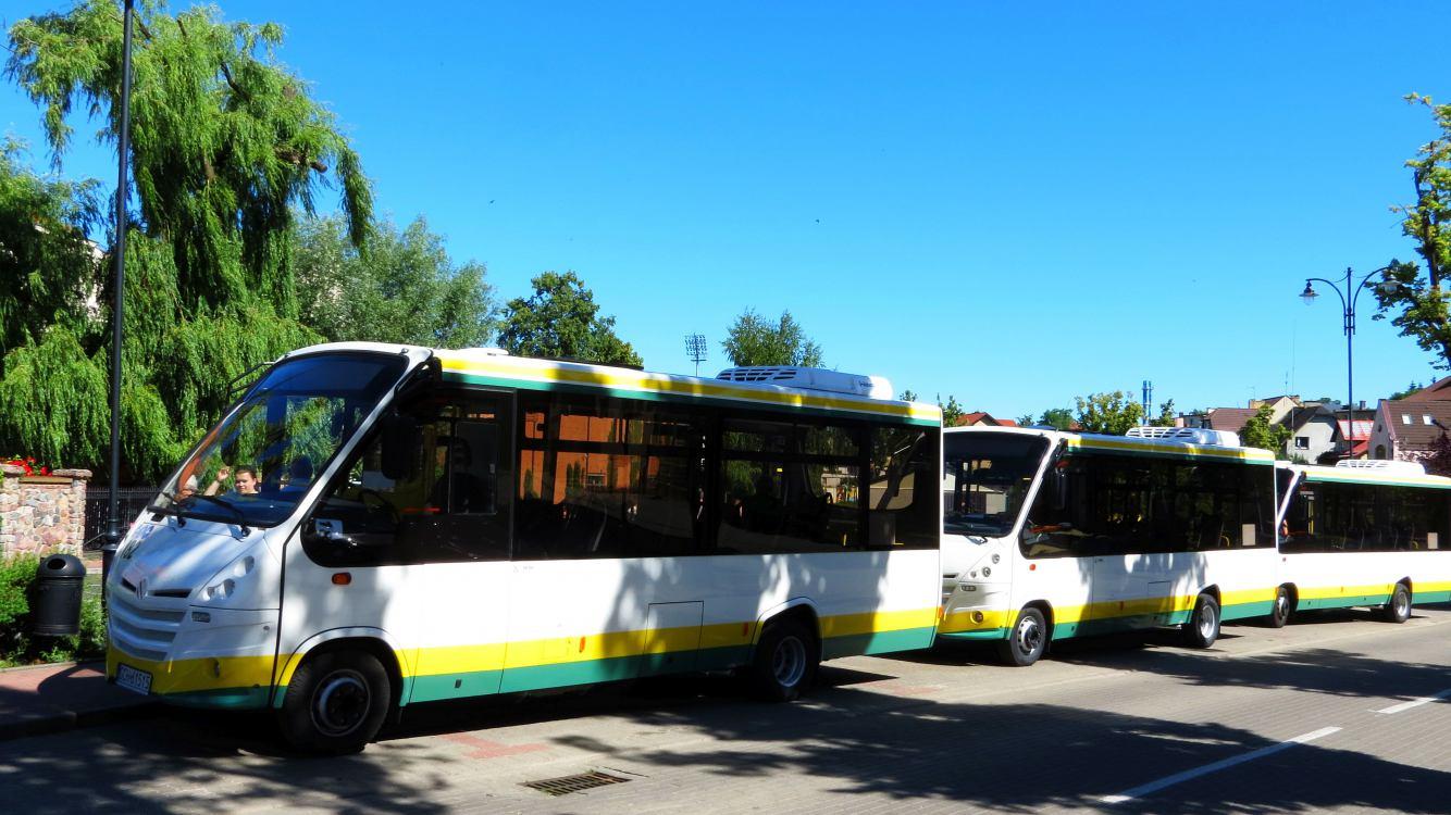 Nowe autobusy MZK