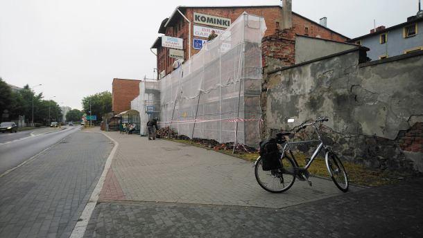 Władze Chojnic chcą w końcu odrestaurować mury obronne przy ulicy Sukienników
