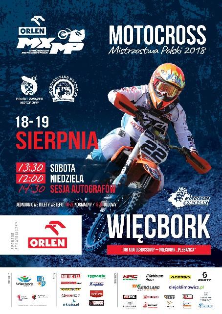 W Więcborku ruszają dziś 18.08 dwudniowe Mistrzostwa Polski w motocrossie