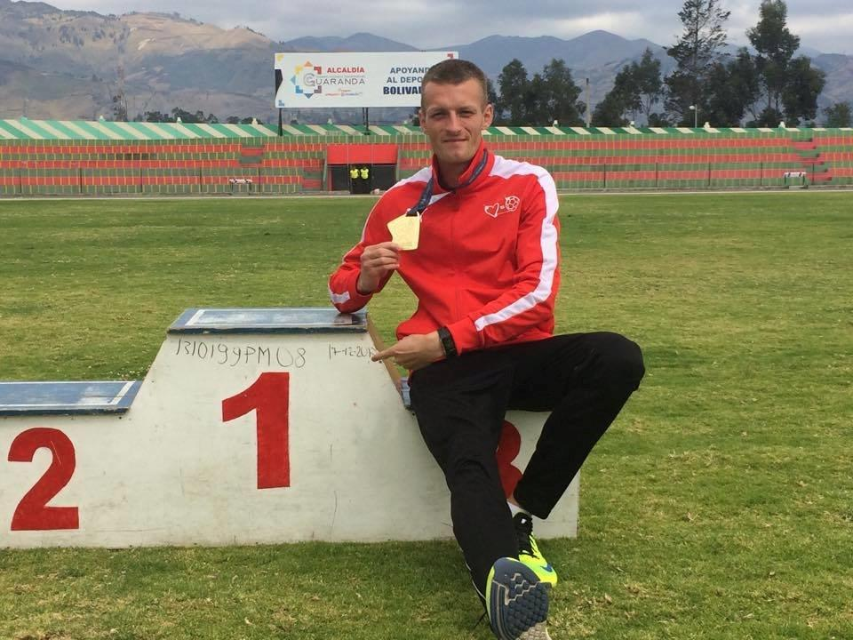 Daniel Pek z Olimpijczyka Skorzewo z brązowym medalem Paraolimpijskich Mistrzostw Europy w lekkiej atletyce
