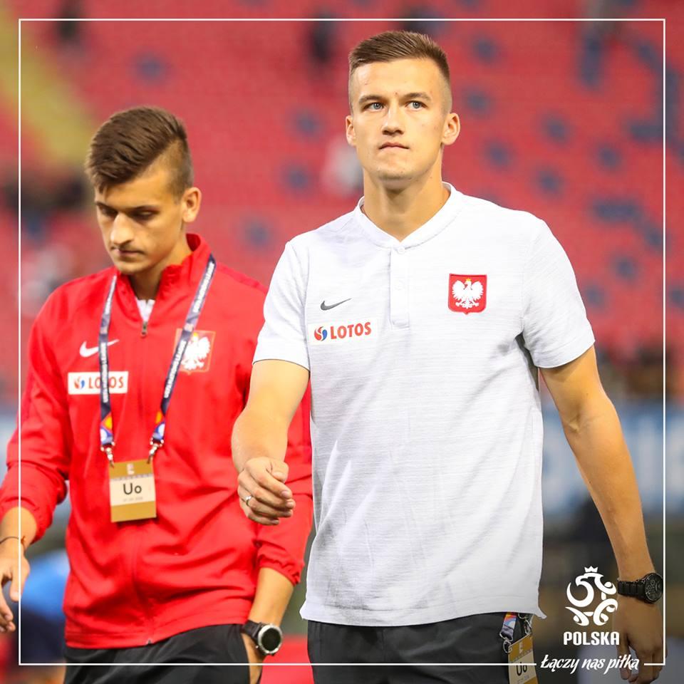 Kolejny mecz Arkadiusza Recy w piłkarskiej reprezentacji Polski