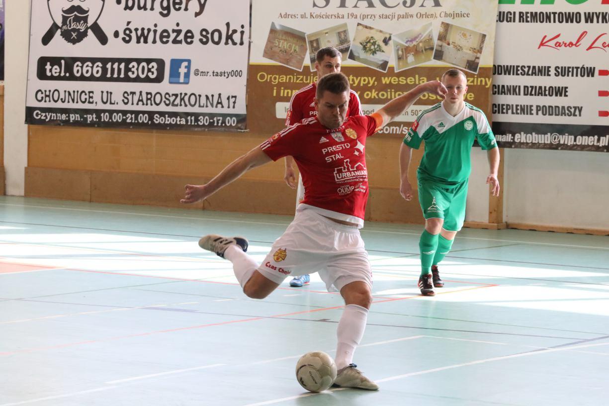 Powrót do Ekstraklasy Futsalu był udany dla Red Devils Chojnice. Zwycięstwo w debiucie grającego trenera