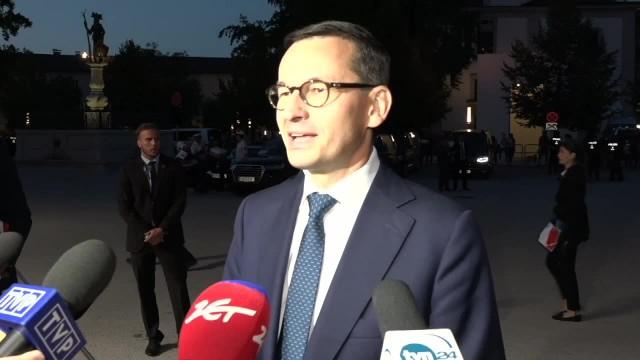 Premier o uchodźcach To Polska jako suwerenny kraj ma decydować, kogo chcemy przyjąć