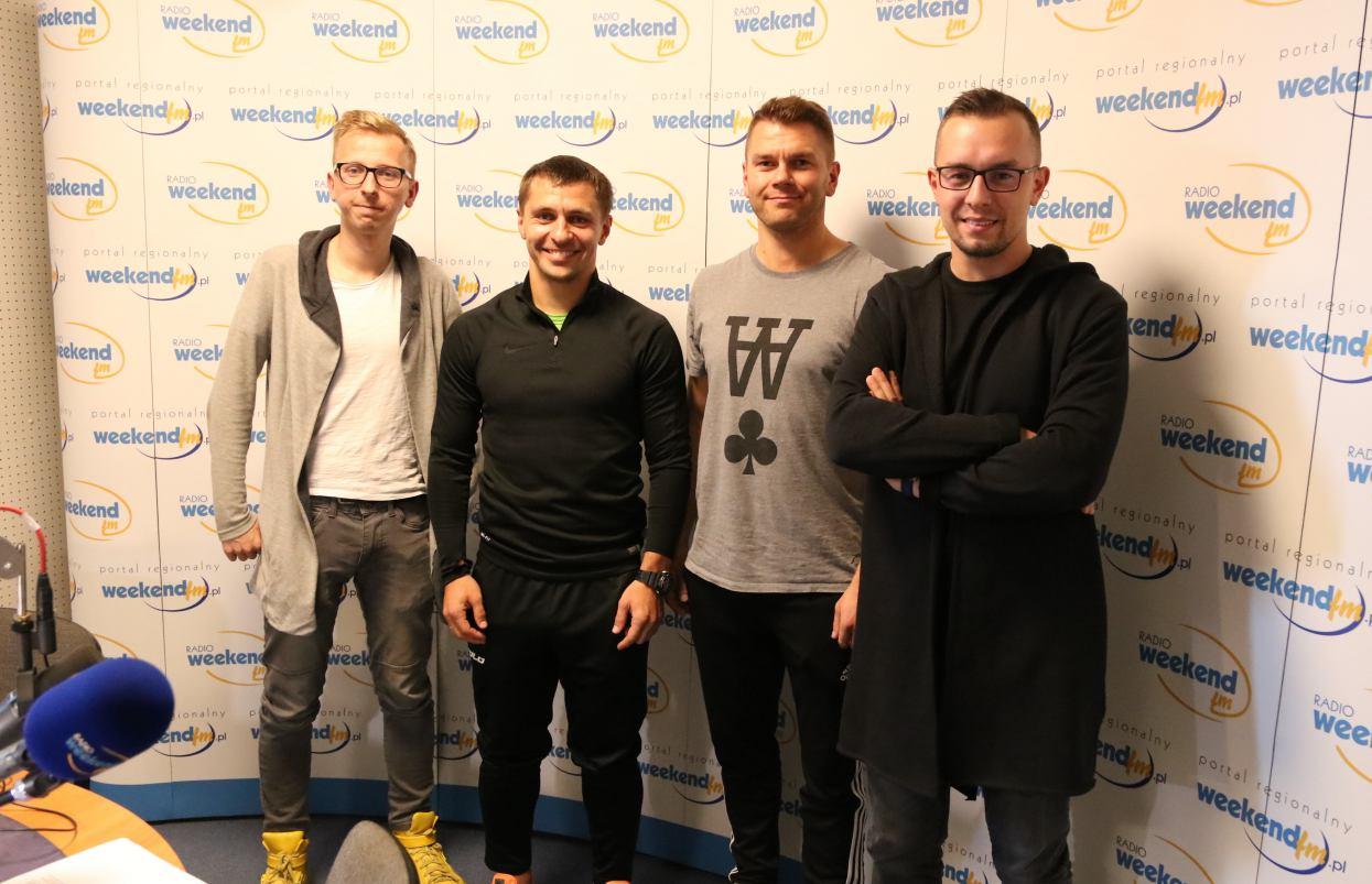 Pięciu rozmówców z trzech klubów Red Devils Chojnice, Bytovii Bytów i Chojniczanki