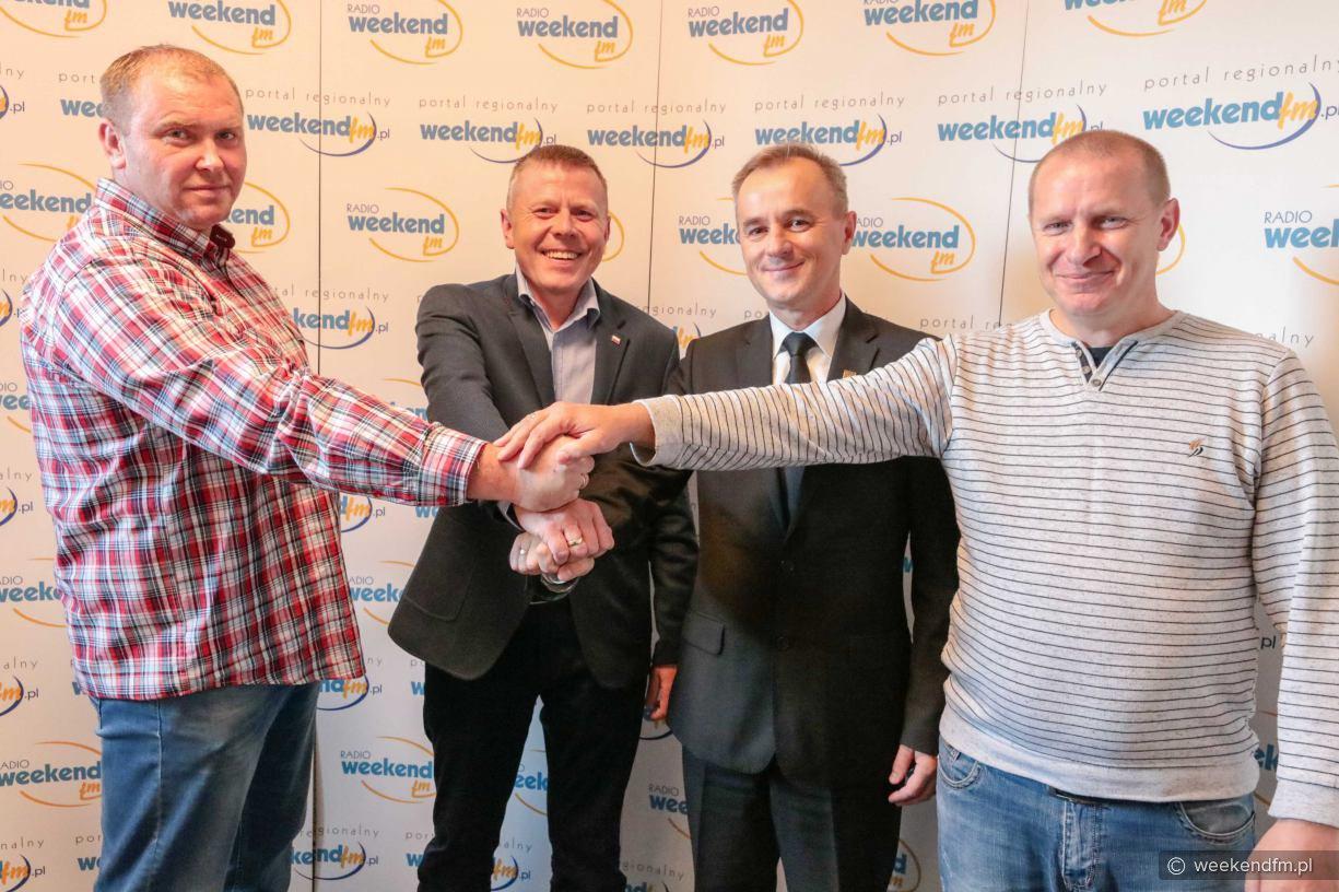 Debata kandydatów na burmistrza Sępólna Krajeńskiego w Weekend FM