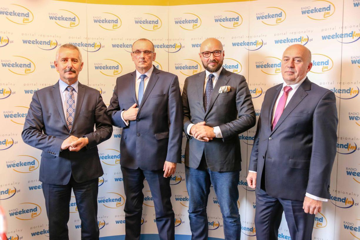 Debata kandydatów na burmistrza Tucholi w Weekend FM