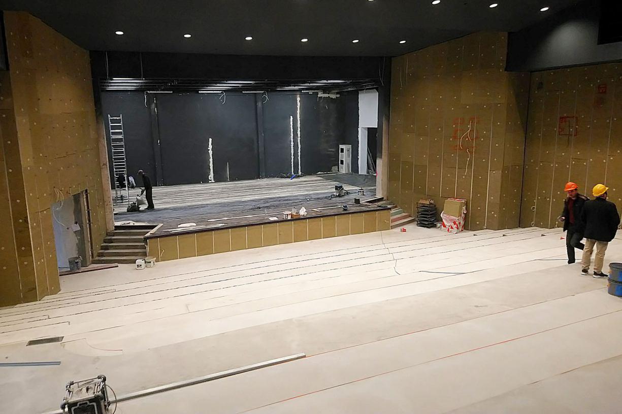 Już tylko niespełna miesiąc pozostał do zakończenia modernizacji Chojnickiego Centrum Kultury