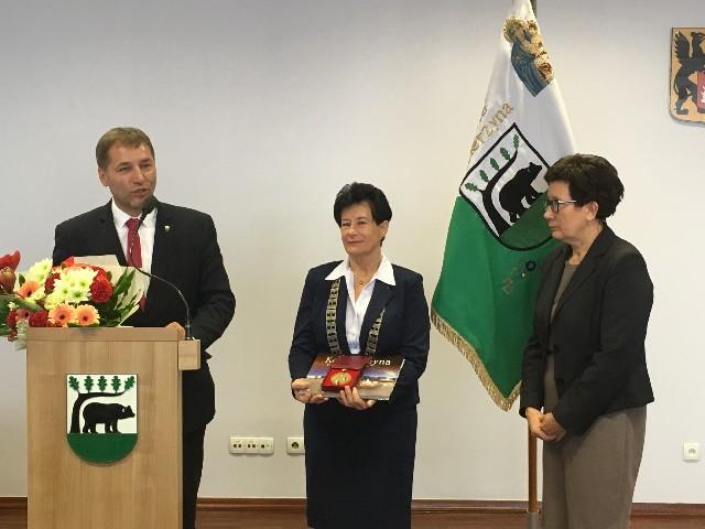 Wieloletnia przewodnicząca Rady Miasta Kościerzyna żegna się z samorządem
