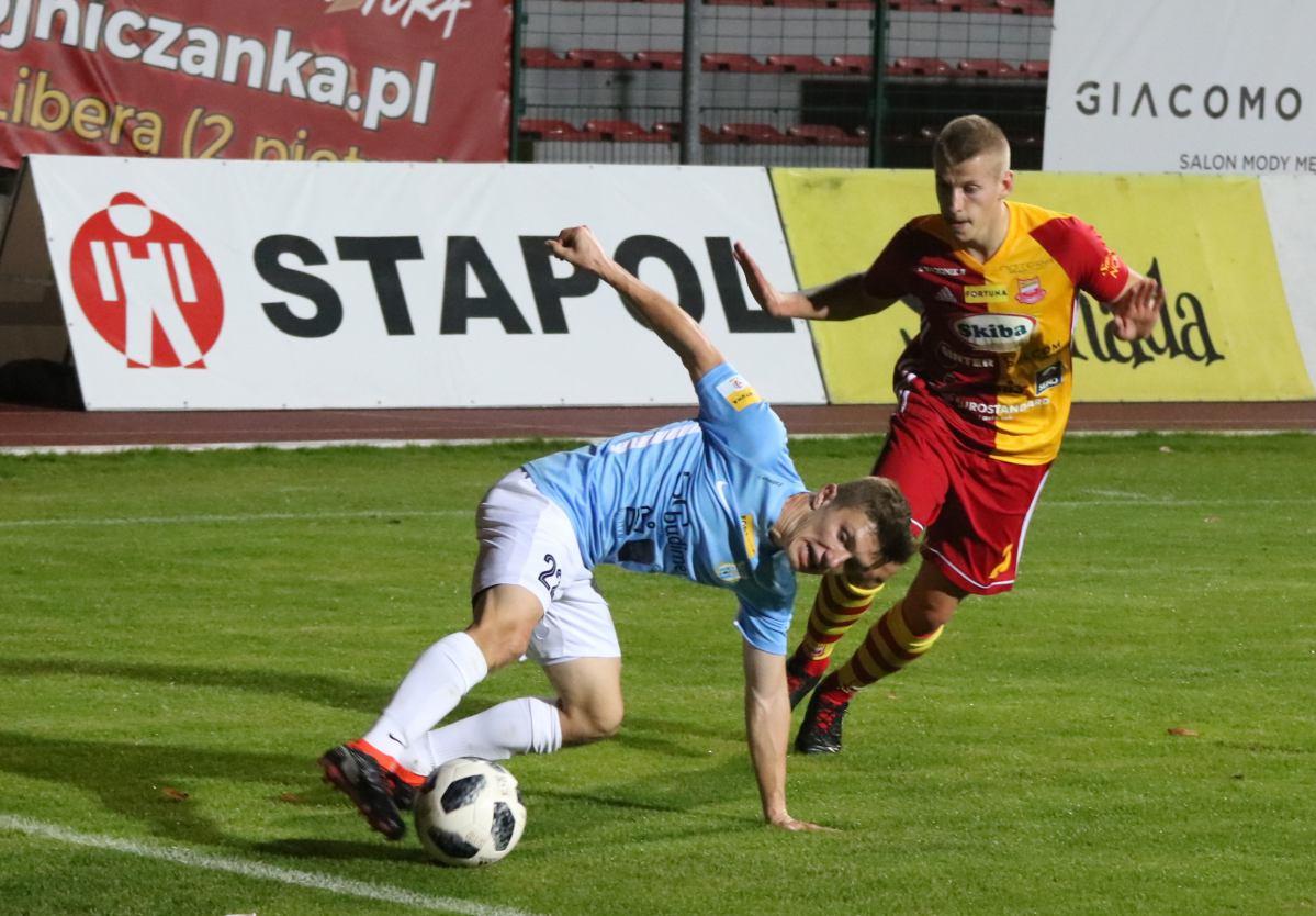 Po sześciu meczach bez zwycięstwa Chojniczanka się przełamała