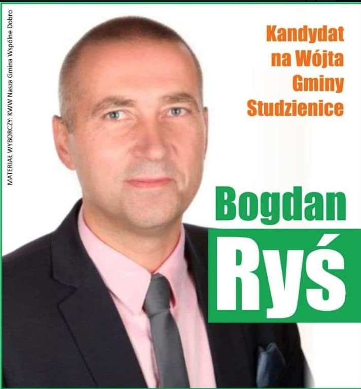 Bogdan Ryś po raz trzeci wybrany wójtem gminy Studzienice