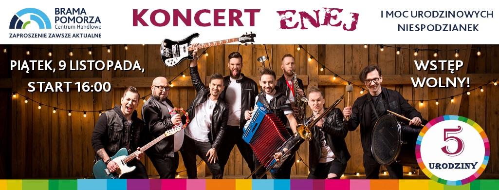 Już o 16:00 zaczyna się urodzinowy koncert w Lipienicach! Gwiazdą będzie ENEJ!