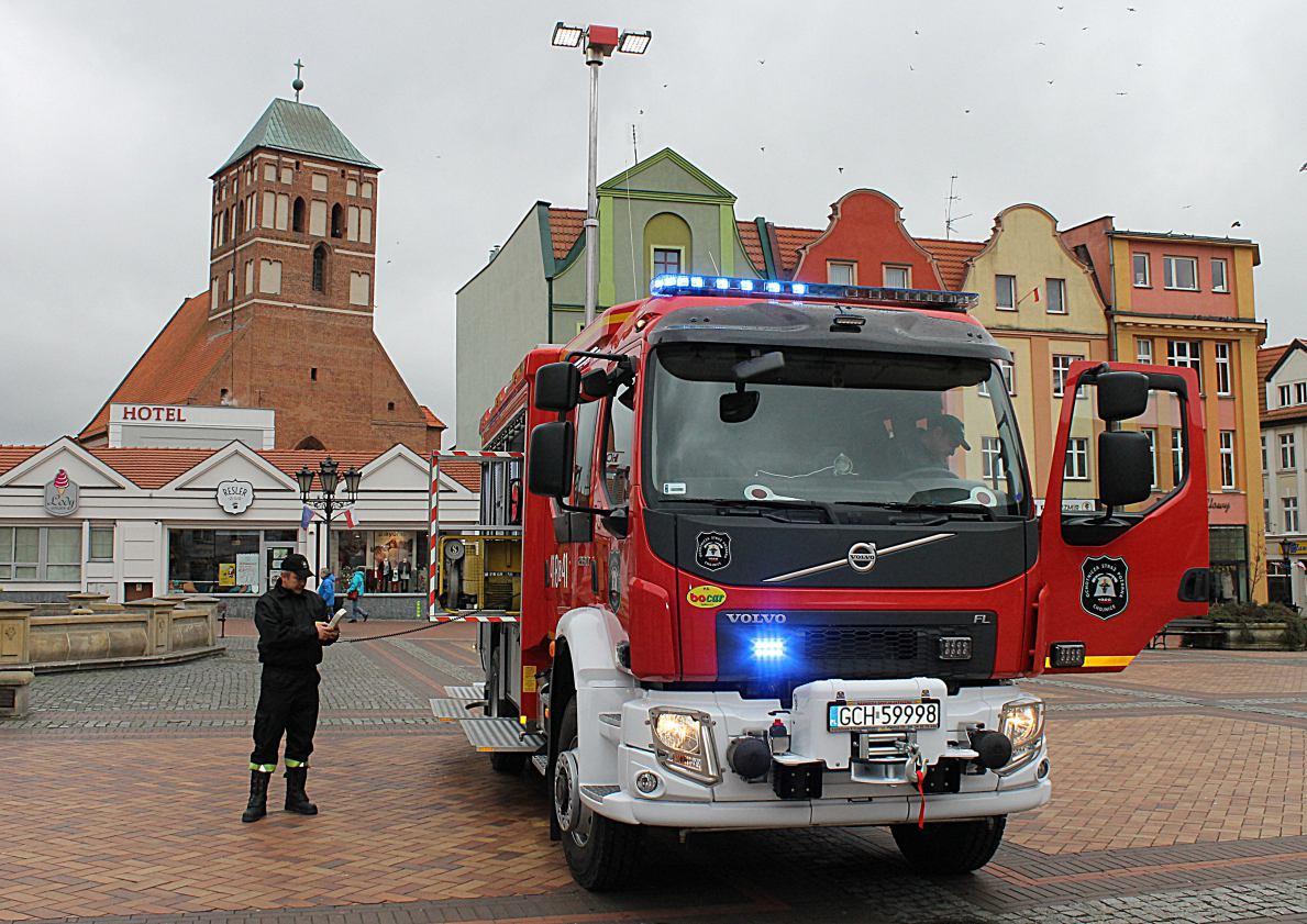 Strażackie ´wypasione´ Volvo