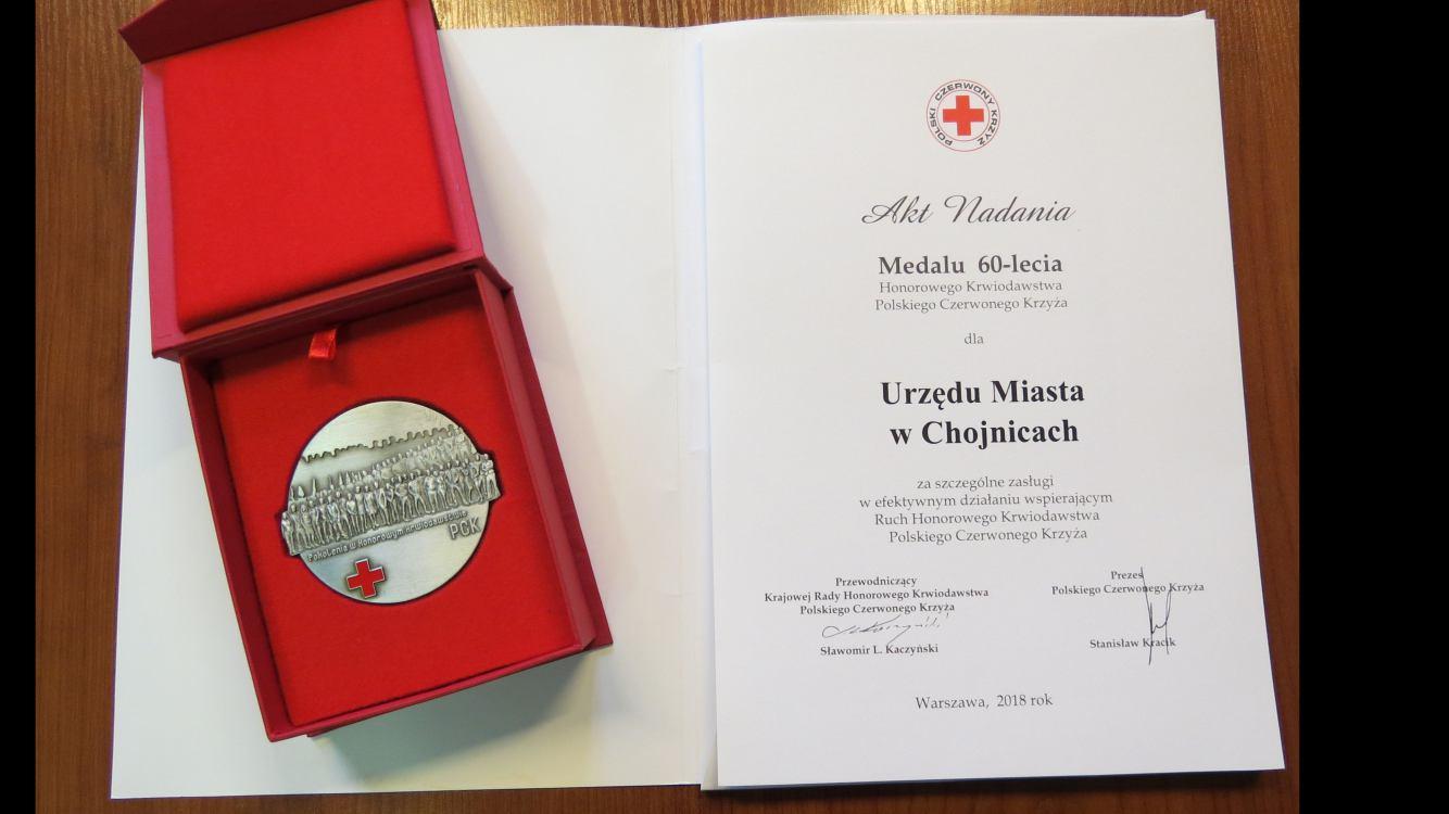60-lecie Honorowego Krwiodawstwa Polskiego Czerwonego Krzyża