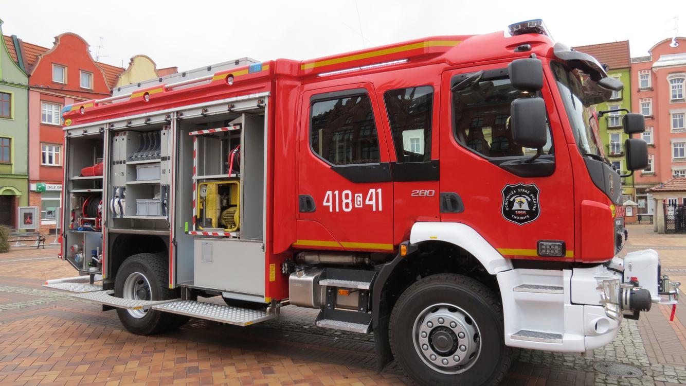 Nowy wóz strażacki OSP Chojnice
