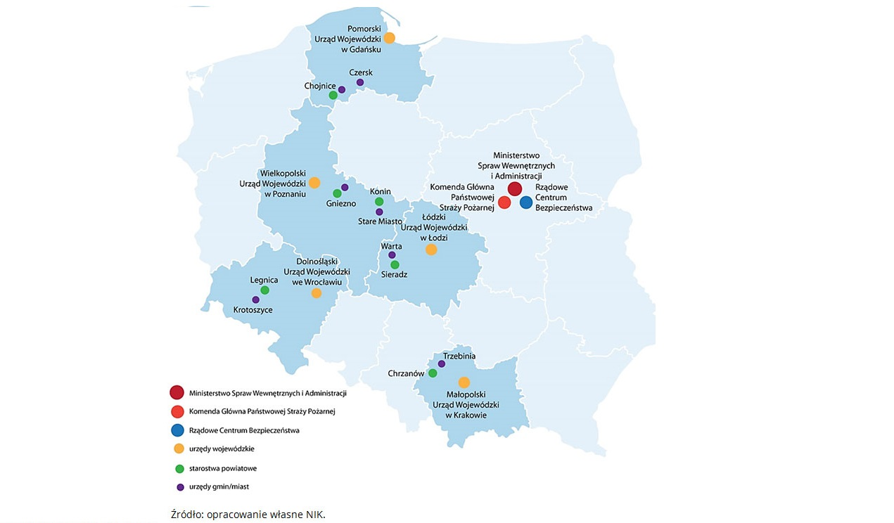 Polska nie ma skutecznego systemu ochrony ludności przed katastrofami naturalnymi