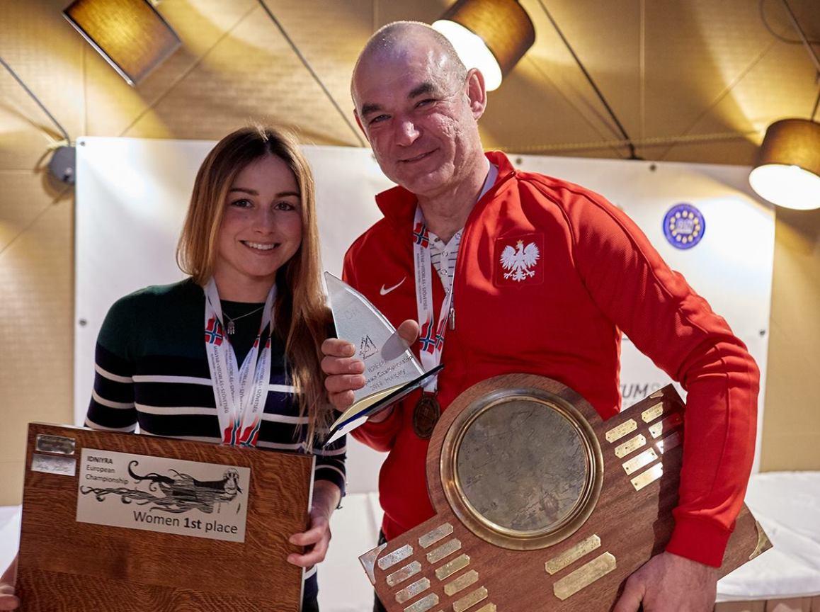 Zuzanna Rybicka z Chojnickiego Klubu Żeglarskiego została Mistrzynią Europy w bojerach