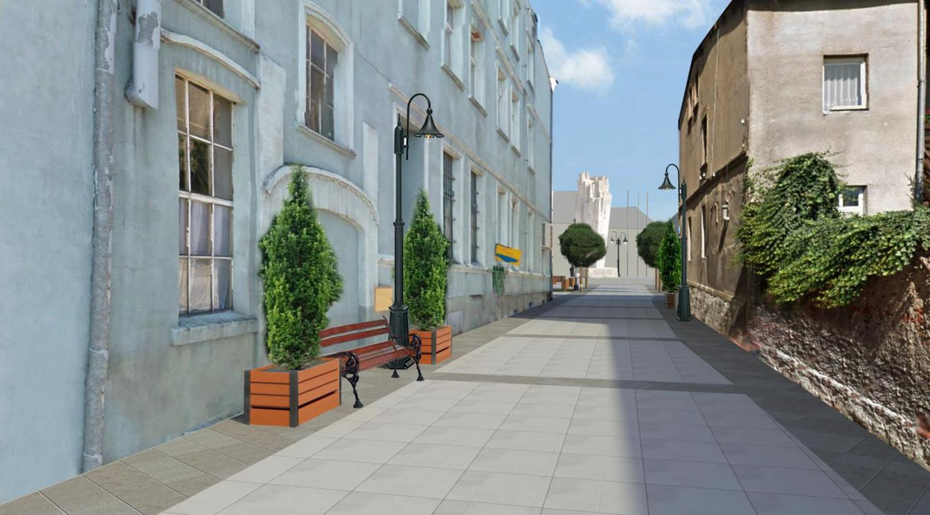 Wiadomo już, jak będzie wyglądało centrum Sępólna Krajeńskiego po rewitalizacji WIZUALIZACJE