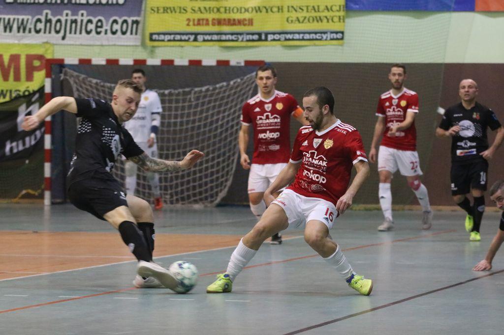 Futsaliści Red Devils Chojnice rozgromili wicemistrzów Polski Gattę Zduńska Wola 5:0! (FOTO)