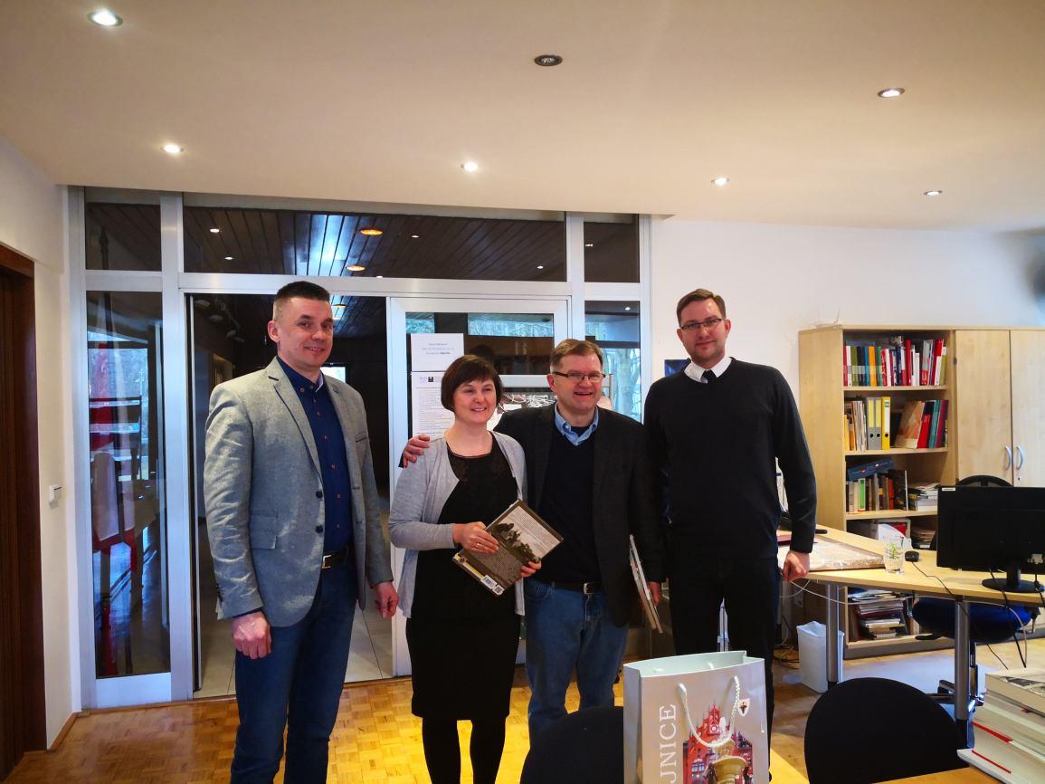 Delegacja miasta Chojnice z wizytą w CBH PAN w Berlinie