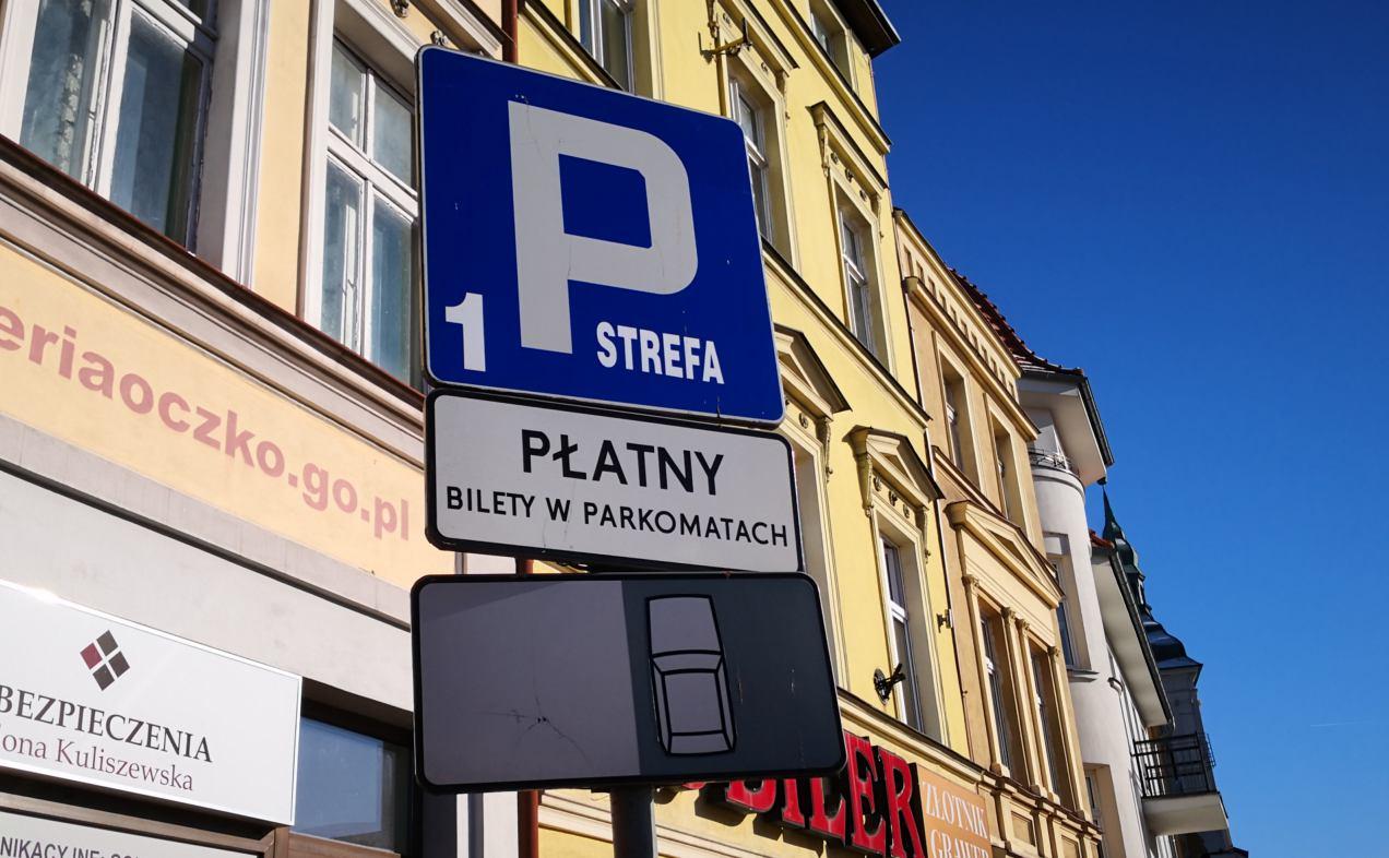 Analiza strefy płatnego parkowania