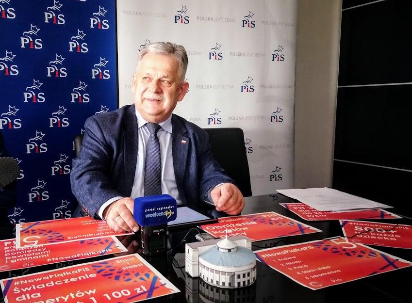 Poseł Aleksander Mrówczyński komentuje wynik niedzielnych wyborów