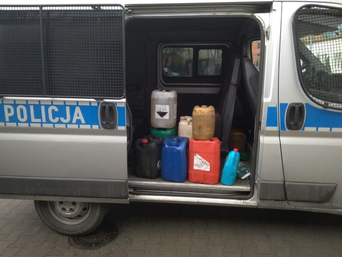 Wpadka złodziei paliwa w powiecie sępoleńskim