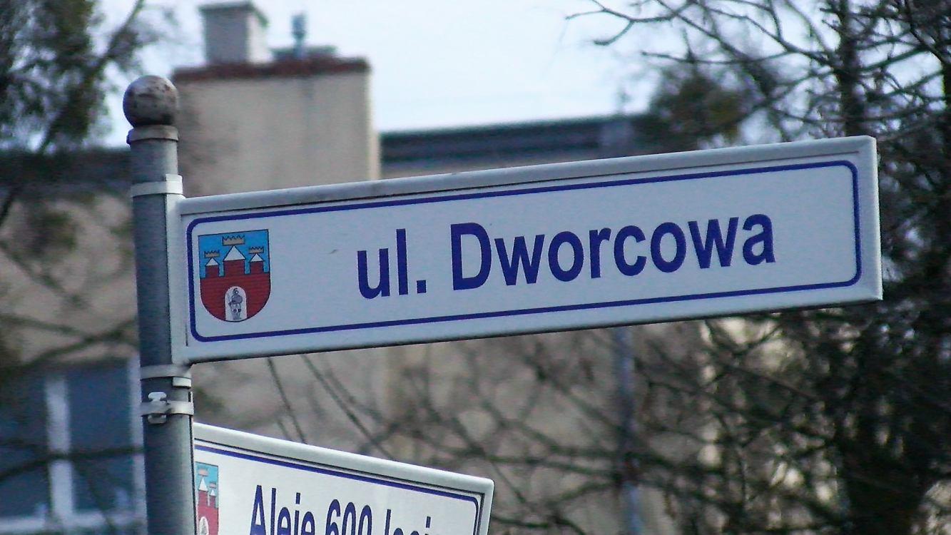 Ulica Dworcowa w Więcborku już pod zarządem miasta