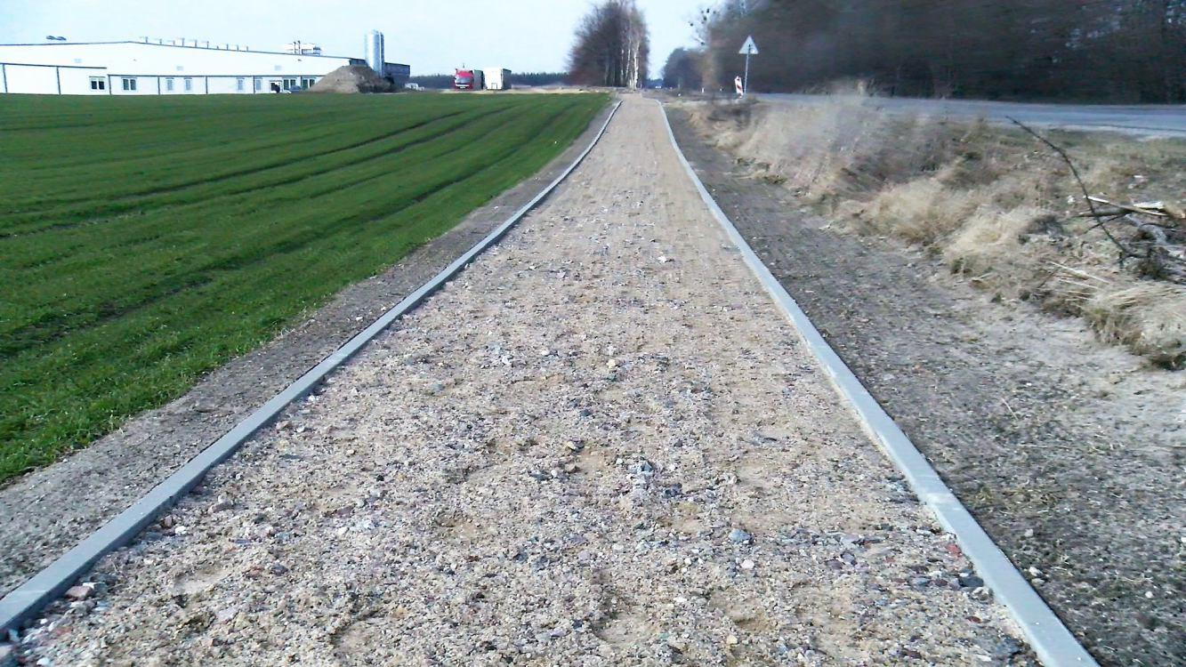 Ścieżka rowerowa z Chojnic do Zamartego ma być przedłużona