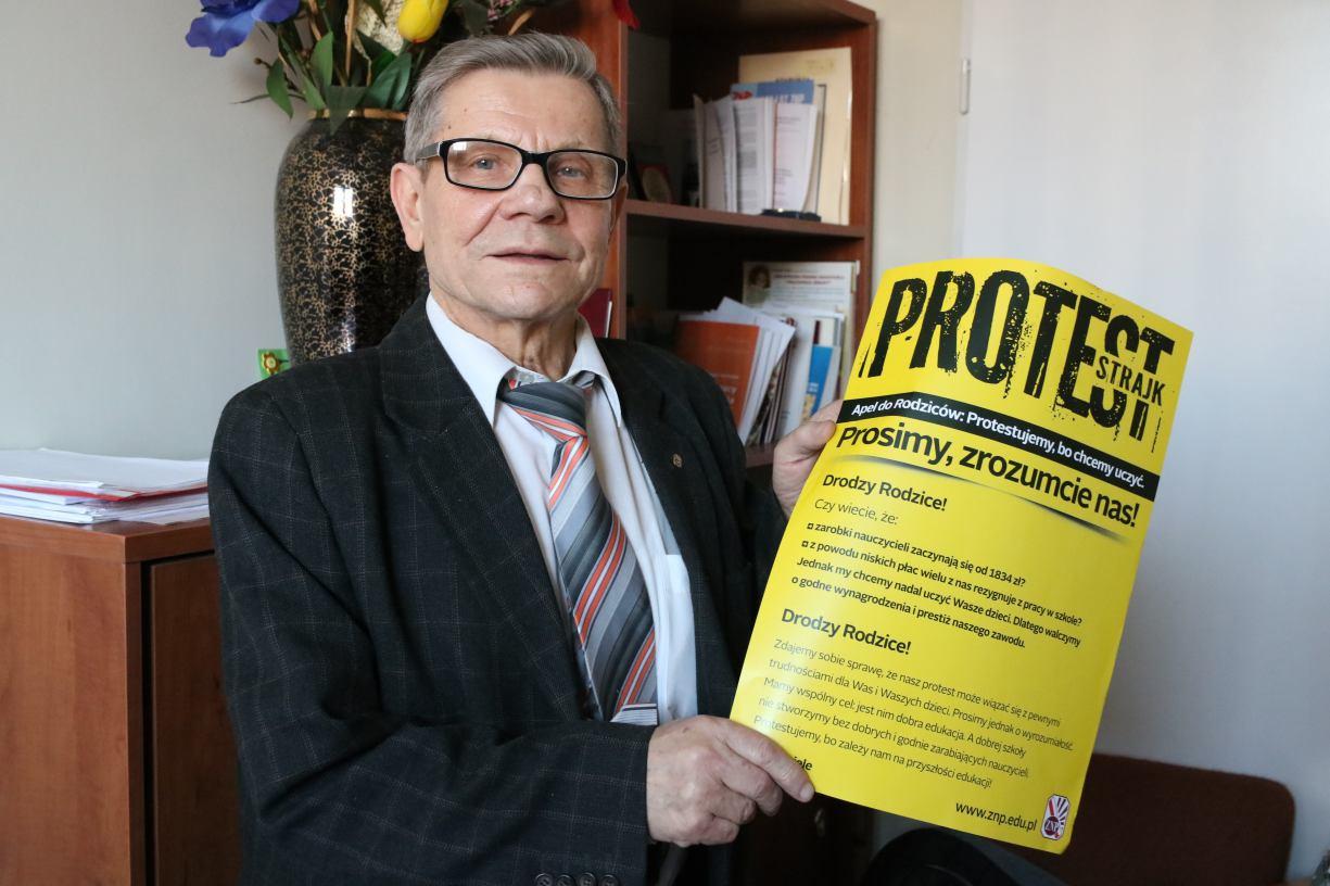Nauczyciele z Człuchowa też będą protestować w ramach ogólnopolskiej akcji