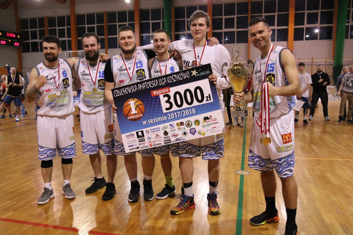 Ćwierćfinały Człuchowskiej Amatorskiej Ligi Koszykówki rozegrane