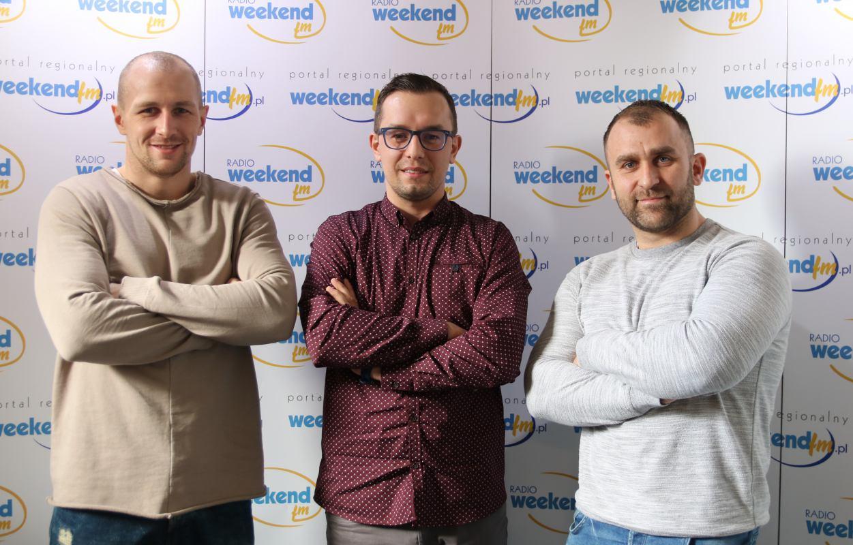 Pięściarz z Kościerzyny Nikodem Jeżewski i jego promotor Krystian Każyszka gośćmi Sportowego Weekendu