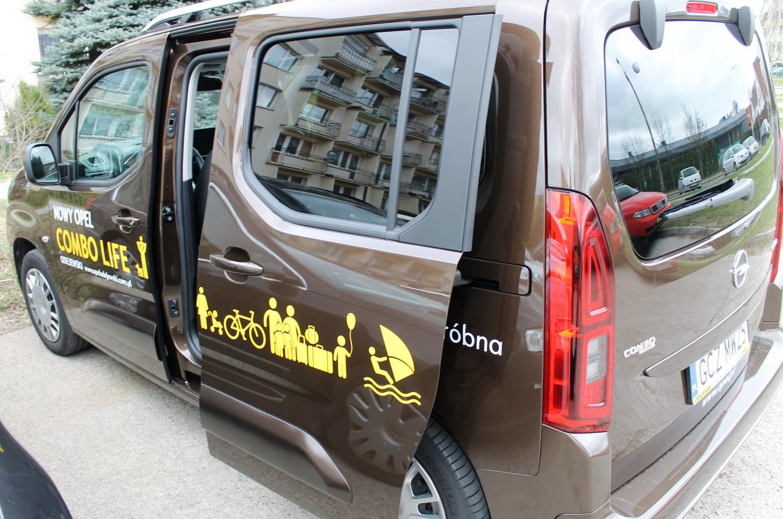 Opel Combo Life - rodzinna Combinacja