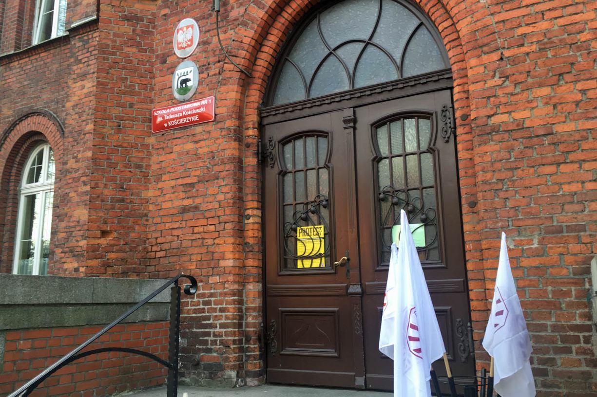 W kościerskich szkołach lekcji dziś nie ma. Podobnie w większości szkół w gminie Kościerzyna