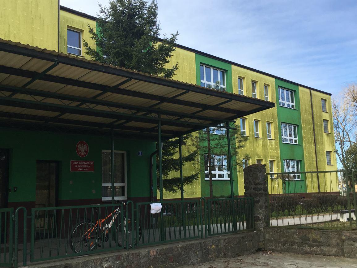 Jeszcze w tym roku remontu doczeka się budynek I Liceum Ogólnokształcącego w Kościerzynie