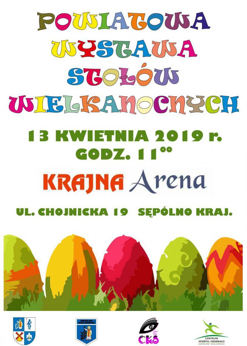 W Sępólnie Krajeńskim dziś 13.04. wystawa stołów wielkanocnych