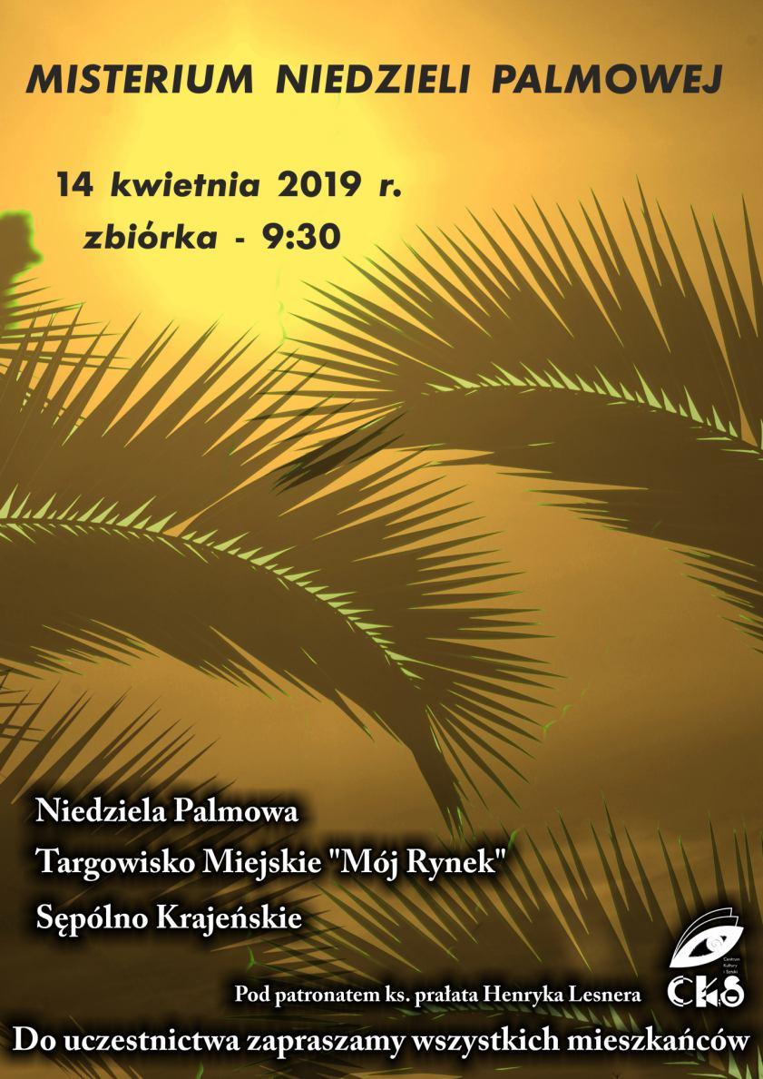 W Sępólnie Krajeńskim dziś (14.04.) Misterium Niedzieli Palmowej