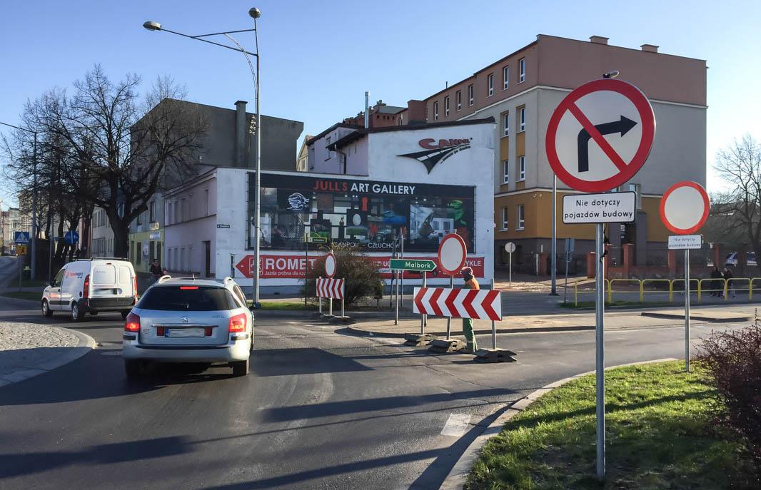 Uwaga! Zmiany w organizacji ruchu drogowego na terenie miasta Chojnice w roku 2019