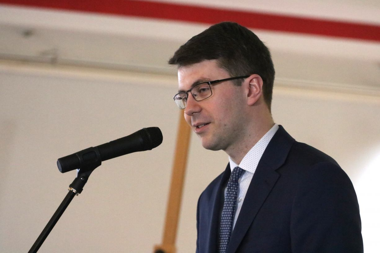 Wiceminister nauki i szkolnictwa wyższego przekonywał w Człuchowie, że matury nie są zagrożone
