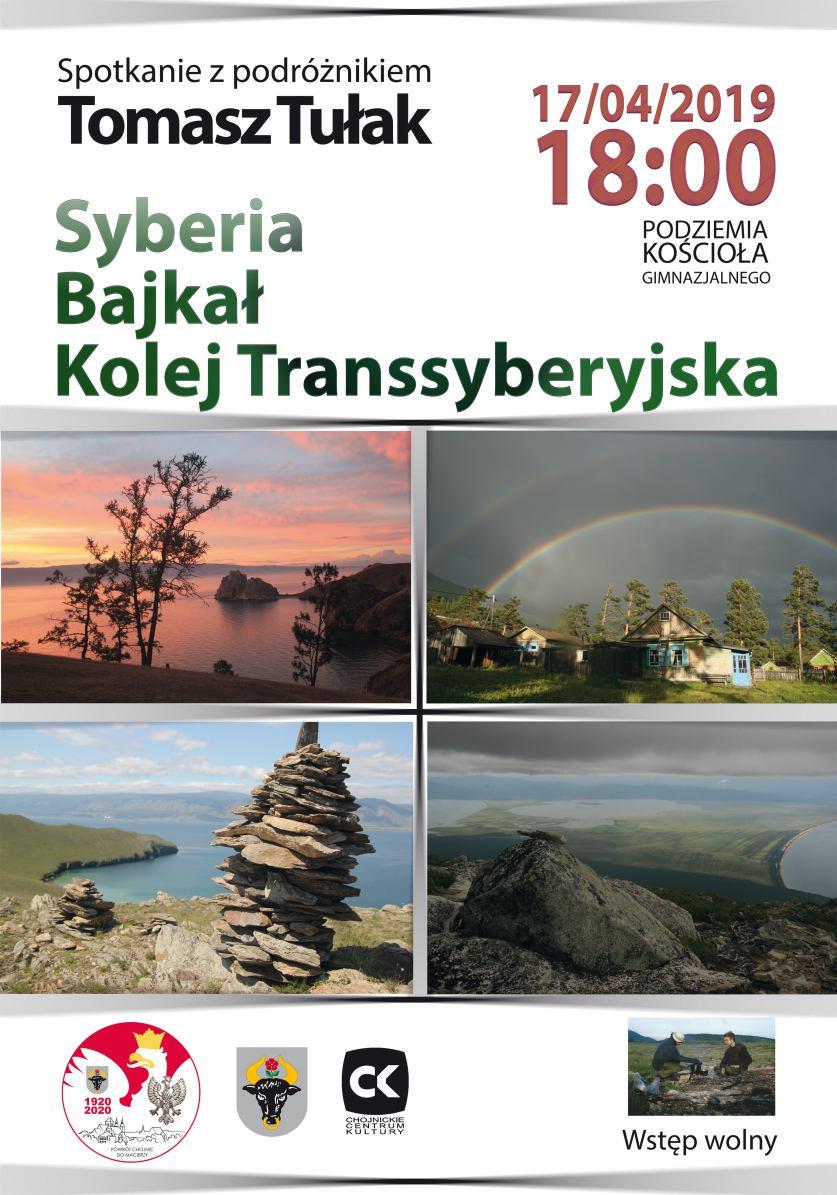 W Collegium Ars w Chojnicach odbędzie się dziś 17.04. spotkanie z podróżnikiem Tomaszem Tułakiem