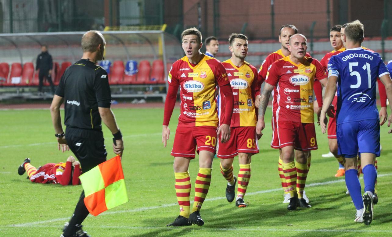 Piłkarze Chojniczanki pojechali po ligowe punkty do dalekiego Mielca