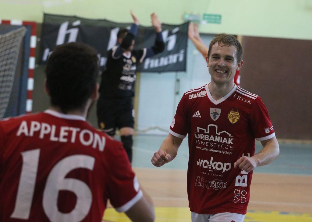 Futsaliści Red Devils Chojnice zapewnili sobie utrzymanie w Futsal Ekstraklasie FOTO