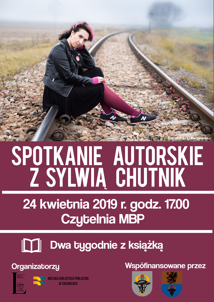 Spotkanie z pisarką Sylwią Chutnik w Chojnicach