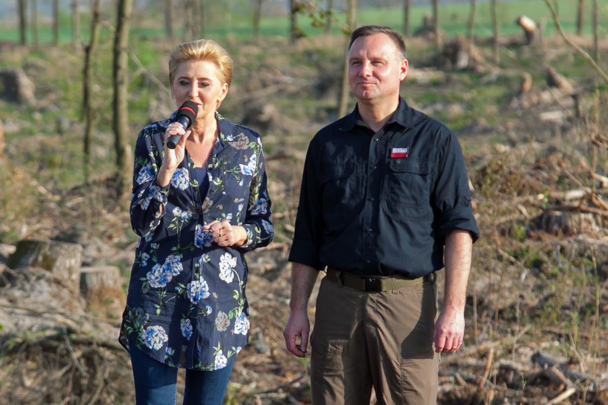 Para prezydencka odwiedzi w piątek 18.09 Nadleśnictwo Lipusz w powiecie kościerskim