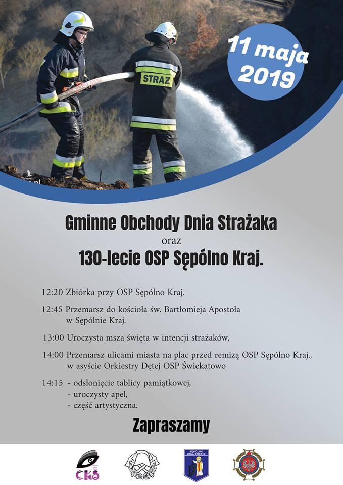 130-lecie Ochotniczej Straży Pożarnej w Sępólnie Krajeńskim