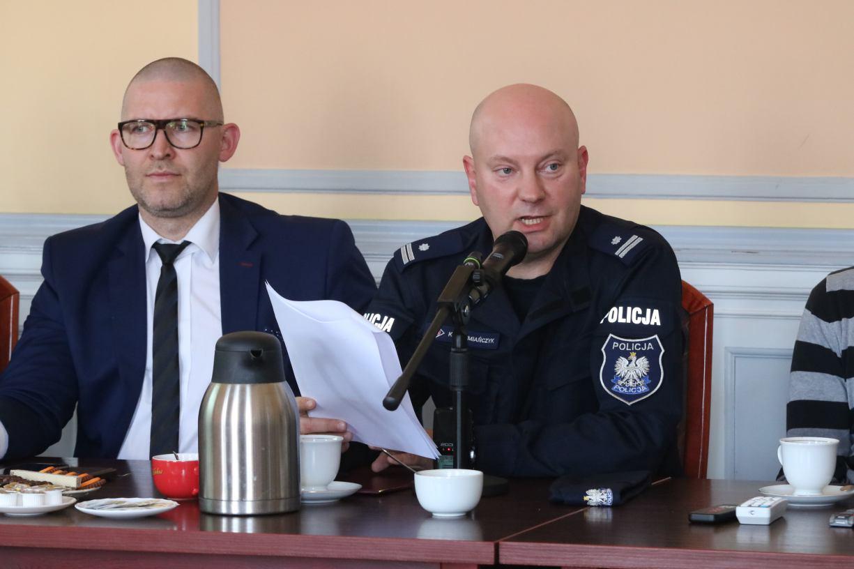 Wykrywalność przestępstw na poziomie prawie 77 procent odnotowała w ubiegłym roku człuchowska policja