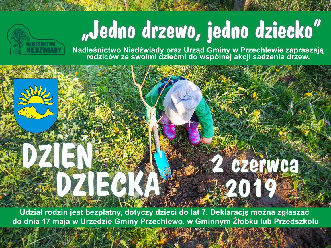 Mieszkańcy gminy Przechlewo mogą posadzić symboliczne drzewko z okazji narodzin dziecka